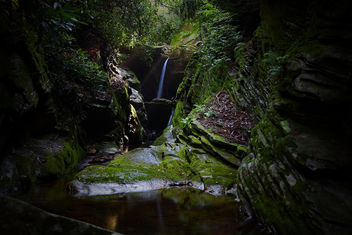 Secret Waterfalls Heavenly Sunbeam - Free image #285233