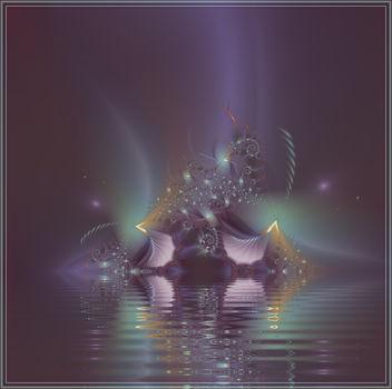 Falling Fractal Star - Free image #285503