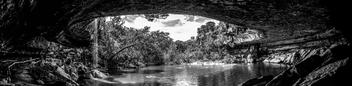 Hamilton Pool Preserve B/W - image #286283 gratis