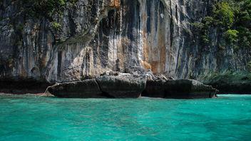 broken rock (Koh Phi Phi) - image #290843 gratis