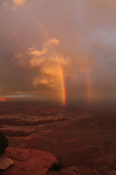 Rainbow in Canyonlands National Park! - бесплатный image #291013