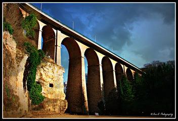 Viaduc reliant l'Avenue de la Gare et la Ville de Luxembourg. - Free image #292883