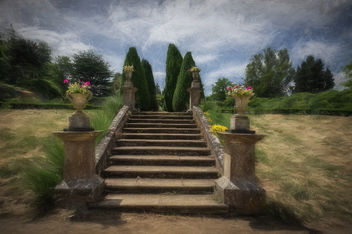 steps to the garden - image gratuit #294113