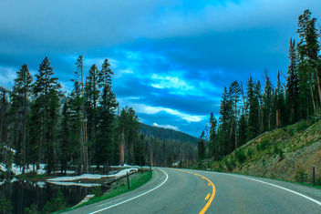 On the road - Free image #294283