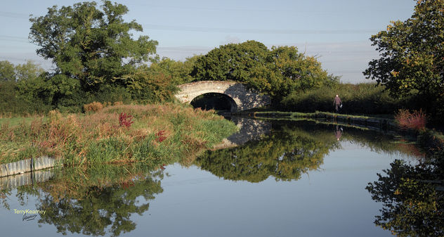 Shropshire Union Canal at Little Stanney Cheshire - Free image #294573