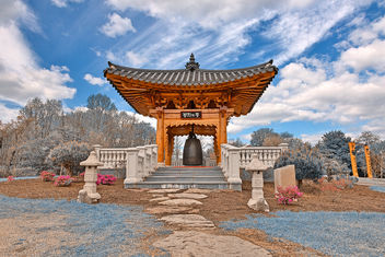 Korean Bell Garden - Winter Blue HDR - Free image #295163