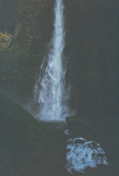 Darkness and Waterfalls. - Free image #295863