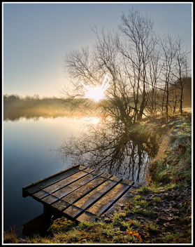 Misty Fishing Platform - image #296333 gratis