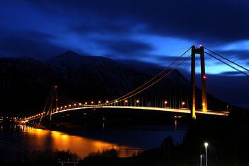 Gjemnessund Bridge - image gratuit #296593