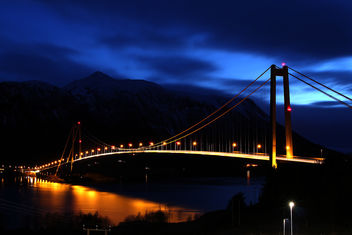 Gjemnessund Bridge - Free image #296593