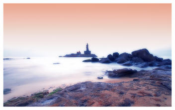 Vivekananda Rock Memorial and Thiruvalluvar Statue, Kanyakumari, India - Free image #296823