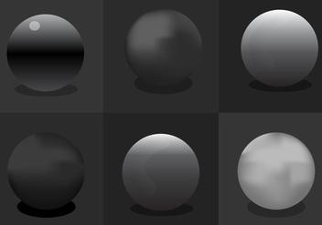 Chrome Sphere - Kostenloses vector #297663
