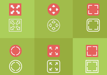 Full Screen Icon - Free vector #297673