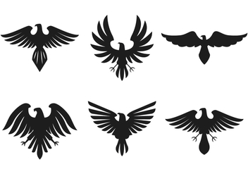 Ancient Hawk Logo Vector - vector gratuit #298033