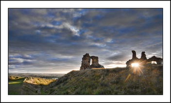 Sunset at Sandal Castle - бесплатный image #299693