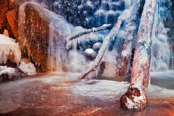 Frozen Avalon Fantasy Falls - HDR - Free image #300013