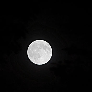 nearly a full Moon July 30th, 2015 - Free image #300023