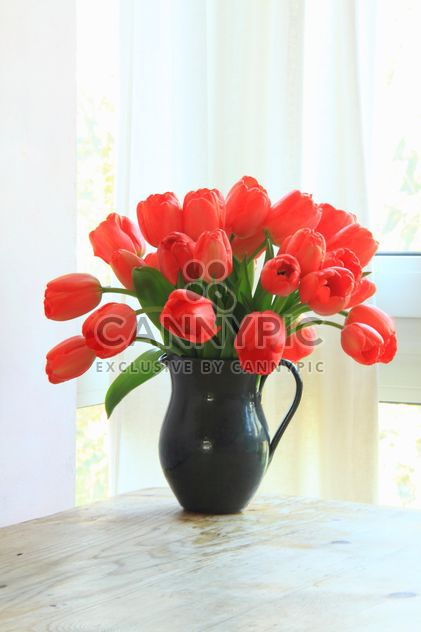 Vase of flowers - Free image #301373