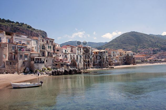 Beach of Cefalu, Sicily - Free image #301433