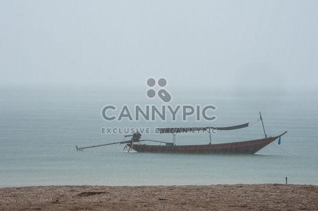 Fishing boat on a sea - Free image #301703