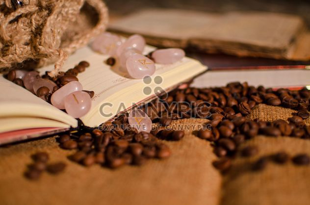 Coffee on a book - Free image #302313