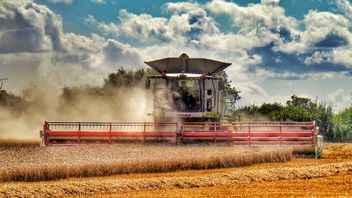 Grain agriculture machinery - image gratuit #302793