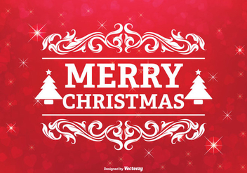 Christmas Greeting Illustration - vector #303063 gratis