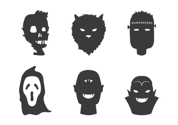 Zombie and Friends Vector - Free vector #303113