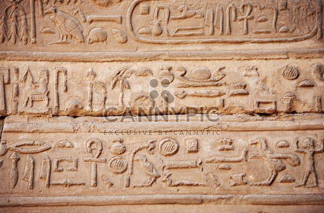 Hieróglifos egípcios - Free image #304003