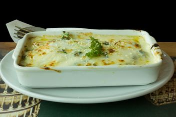 baked spinach with cheese - image gratuit(e) #304023