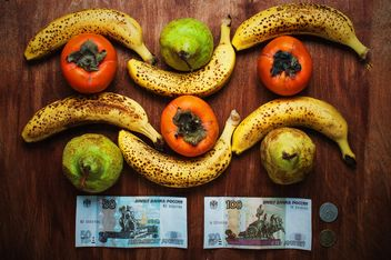 Bananas, pears and russian rubels - image gratuit #304613