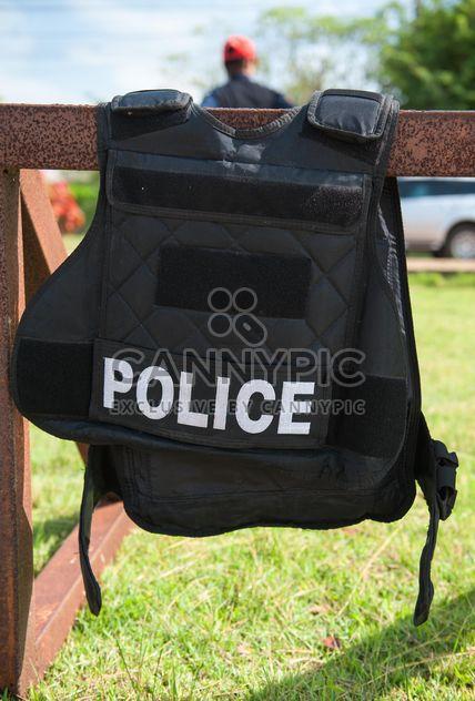 Policemen bulletproof vest - image #304663 gratis