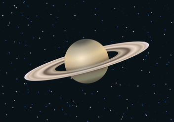Free Saturn Planet Vector - Free vector #305163