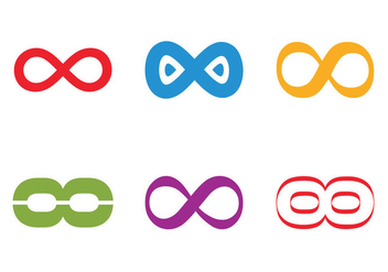Free Infinite Loop Vector Icon - Kostenloses vector #305453