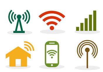 Wifi symbol - Free vector #305583