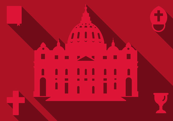 Free Basilica Rome Vector - vector #305623 gratis