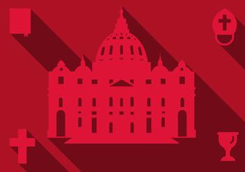 Free Basilica Rome Vector - Free vector #305623