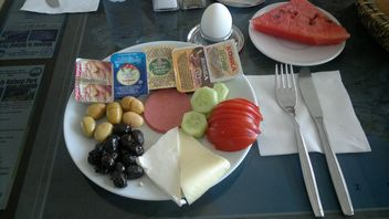 Turkish Breakfast at hotel - бесплатный image #305713