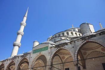 Famous Blue Mosque Sultanahmet - image gratuit #305733