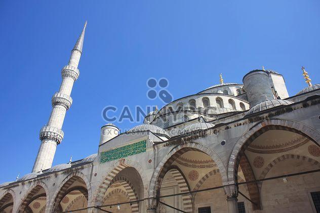 Famosa mezquita azul de Sultanahmet - image #305733 gratis