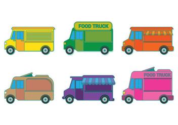 Food Truck Vector - Free vector #305803