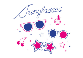 Free Sunglasses Vector - бесплатный vector #305843