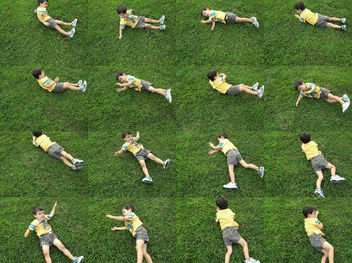 rolling down a hill - image #307683 gratis
