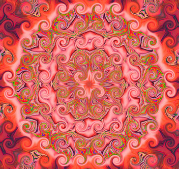 My Love Is Like a Red, Red, Mandala - Free image #308613