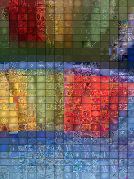 Colored Plate - Fractal Mosaic - бесплатный image #309913