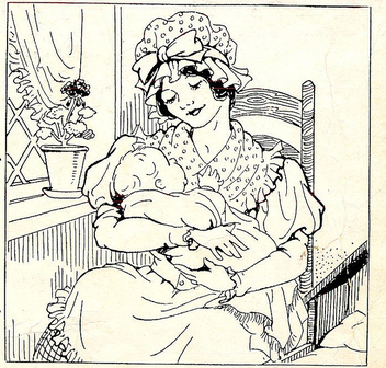 lady w baby - Kostenloses image #310333