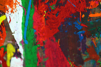 colorful painted texture - image gratuit #310803