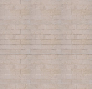 White brick wall texture (3x tiled) - Free image #311483