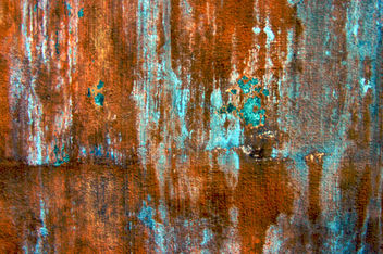 rust and turquoise texture for layer - Free image #312113