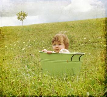 Tin Bucket Baby 2 - image #313383 gratis